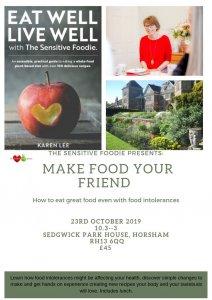 Sensitive Foodie Karen Lee workshop 2019